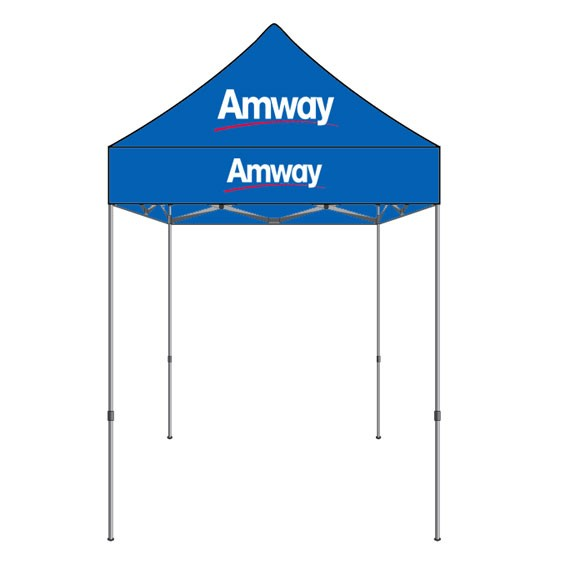 custom print 5 x 5 canopy set