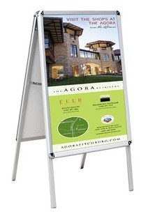 Sidewalk Double Sided A-Frame Sign Display