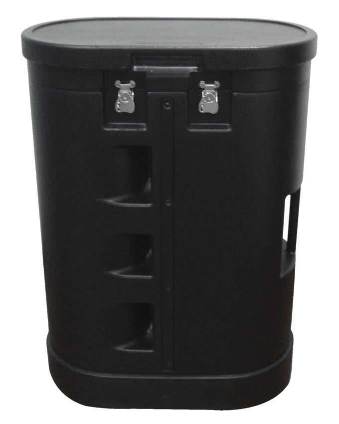 Hard Plastic Podium Trolley Case