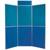 7'x7.5'ft-- 6 Panel Folding Foam Board Display
