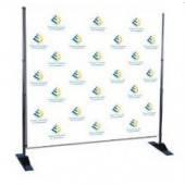 stap repeat mural backdrop