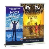 mini desk retractable banner print