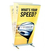 flexible retractable banner stand