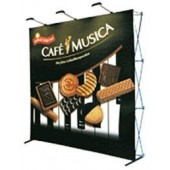 7ft straight backdrop display
