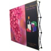 table straight backdrop 5ft