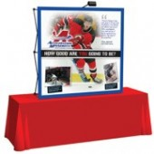 table straight backdrop 4ft