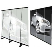 8'x6.5'ft-- 3x Aluminum L-Stand Mural Backdrop