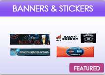 Outdoor Banners And Stickers